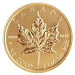 Zlatý Maple Leaf 1 oz